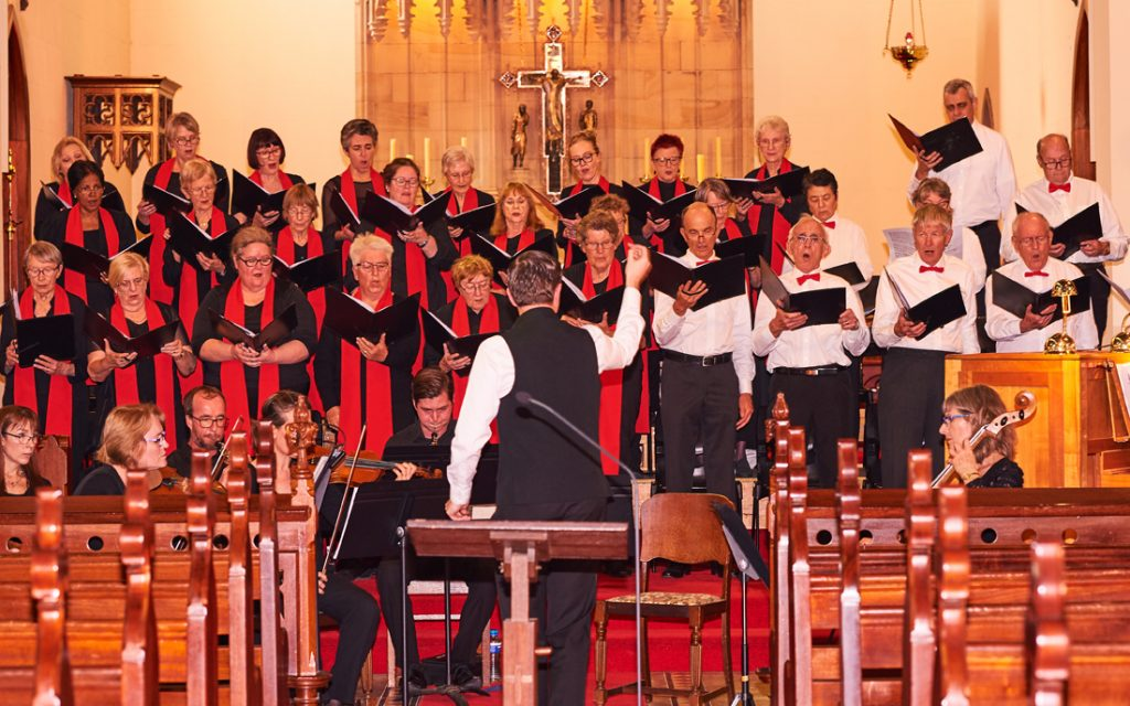 Holy Trinity concert, Sept 2018